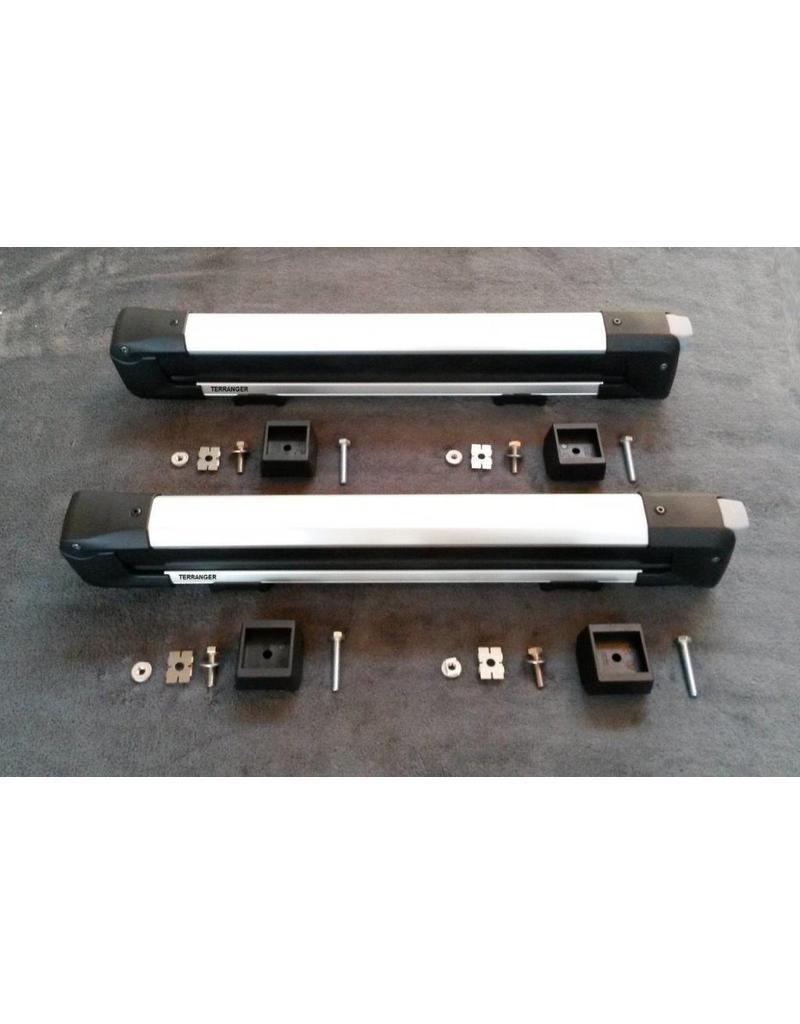Ski-/Snowboard-Halter (Skiträger) für unser modulares Heckträgersystem für VW T5/T6 und MB Vito