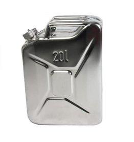 Kanister, 20 Liter, aus rostfreiem Edelstahl
