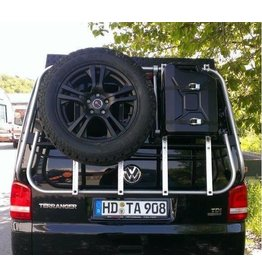 "VW T6 Rear carrier ""modular"" suitable fo carrying bicycles, spare wheel, canister, etc."