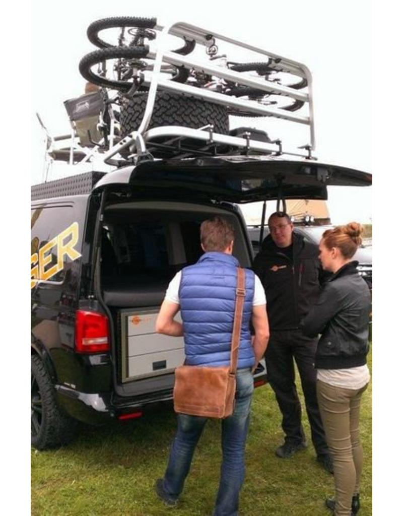 """VW T6 Rear carrier """"modular"""" suitable fo carrying bicycles, spare wheel, canister, etc."""