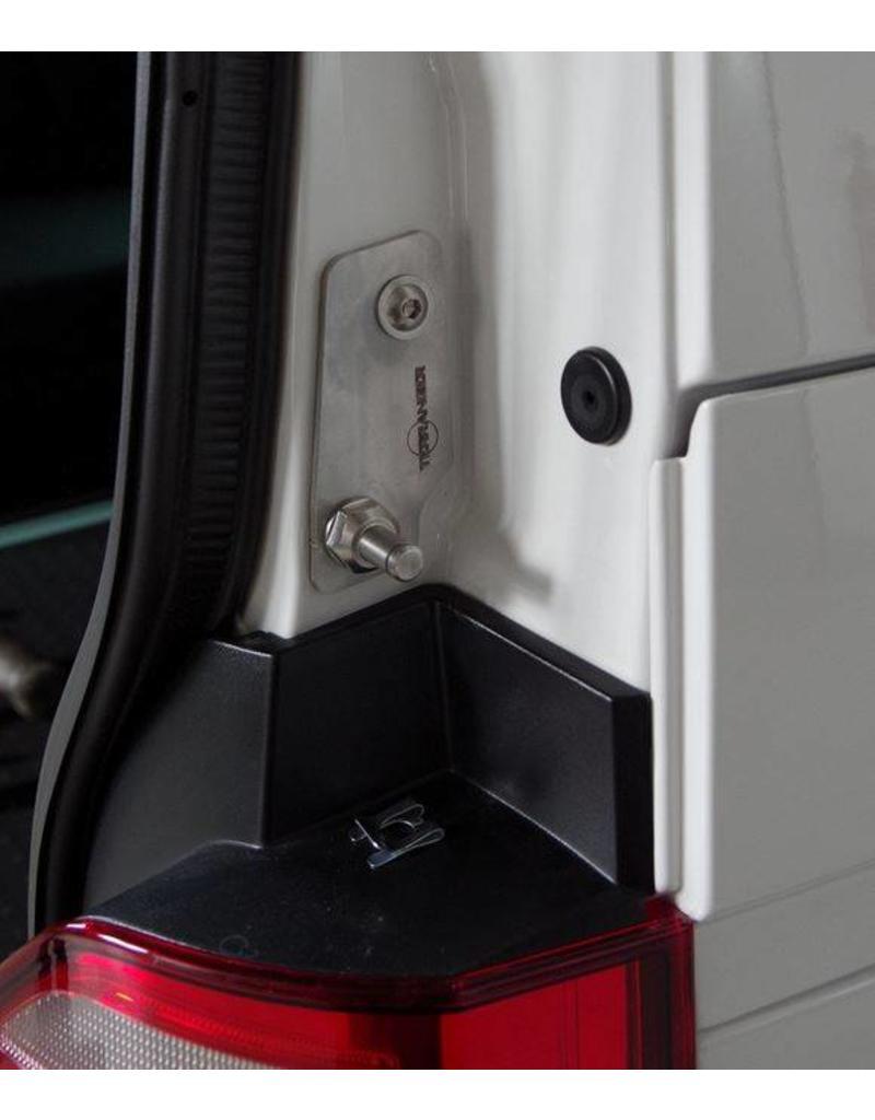 """VW T6 Ressorts à gaz hayon (amortisseurs du hayon) """"renforcé"""" jusqu'à 1500 N et support de fixation renforcé"""