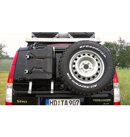 "système porte-bagage-hayon ""modulaire"" Mercedes VITO/VIANO 639"