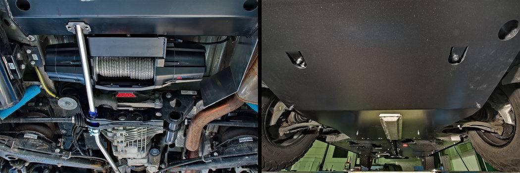 GTV off road van Terranger_T6_winch protected