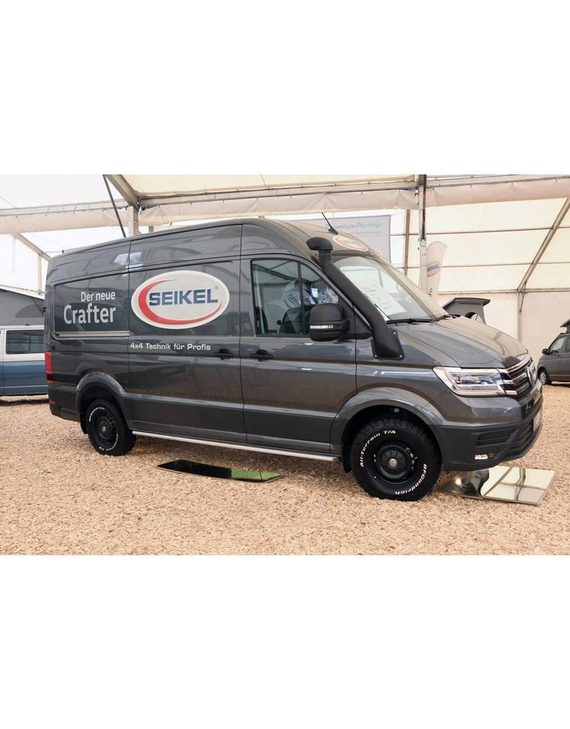installation Rock slider  VW Crafter + MAN TGE