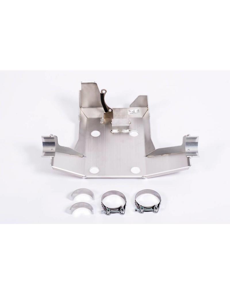 Blindage pont arrière (coupleur Haldex/différentiel) en Alu 5mm pour VW Crafter II (7C0) / MAN TGE