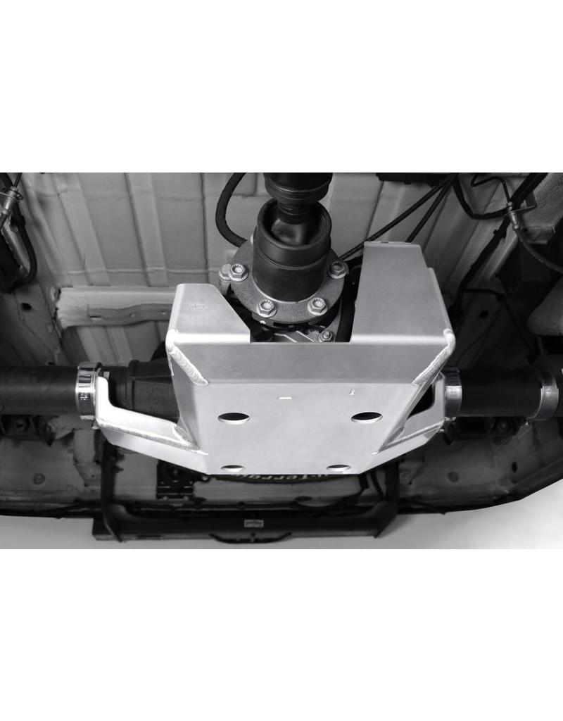 installation of the Aluminium-protection four-wheel coupling/gearbox
