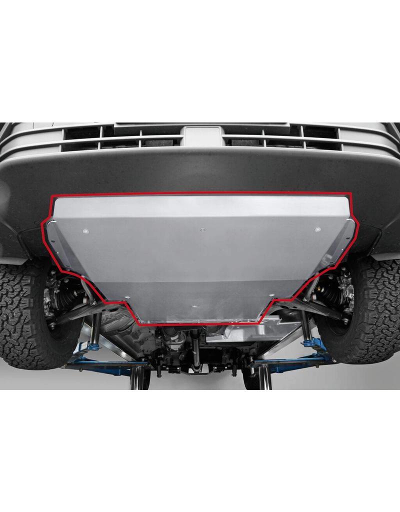Montage du blindage moteur en alu 5mm - SEIKEL VW Crafter /MAN TGE