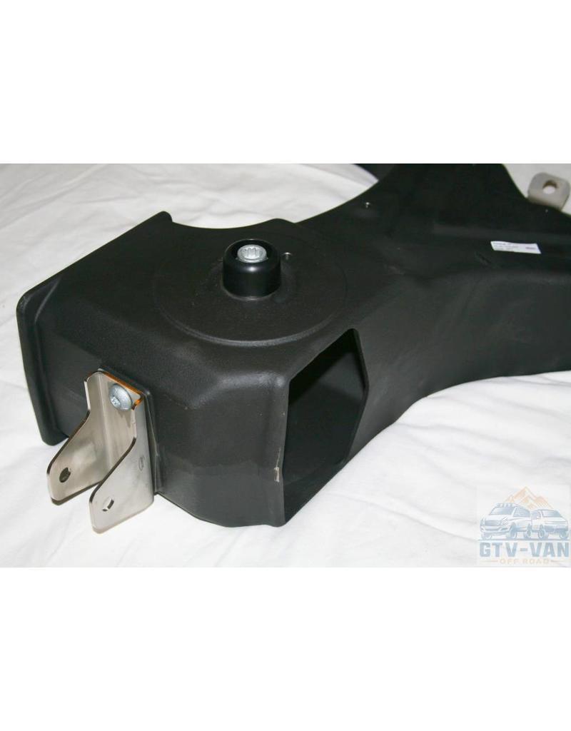 "SEIKEL VW T3 Rear axle swing arm, left, 16"" with rubber/metal bearings"