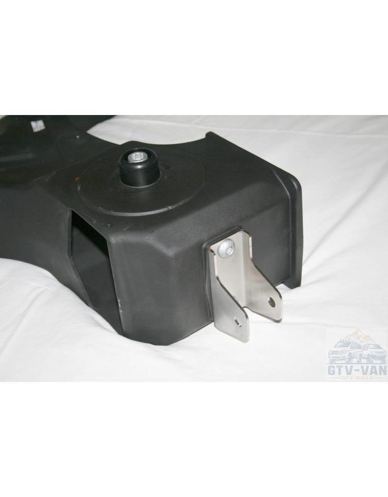 SEIKEL VW T3 Bras oscillant essieu arrière droit 16 » avec paliers en caoutchouc/métal