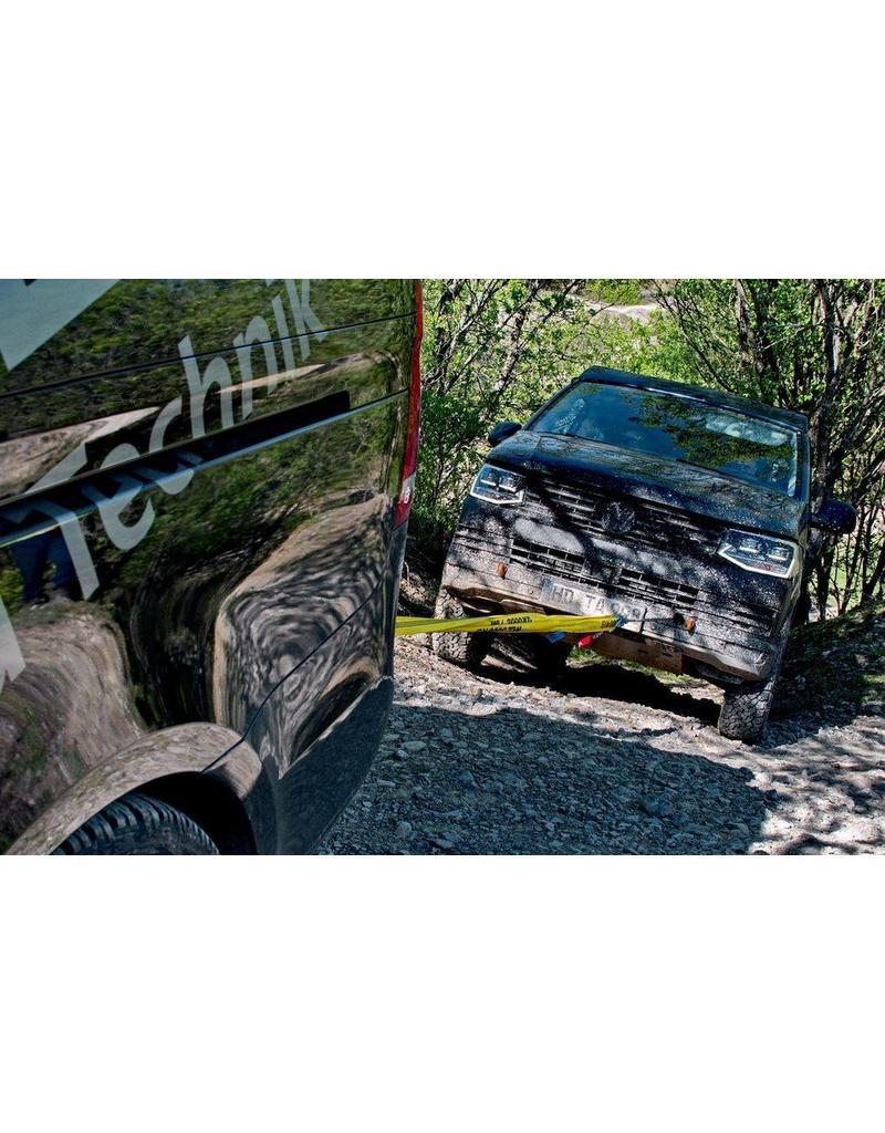 Seilwinde, 12 V, 3.000 / 7.000 kg Zugkraft für Front- und Heckansatz