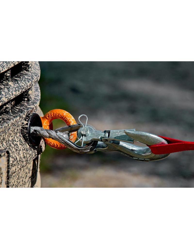 Einbau der Seilwinde  für Front- und Heckansatz