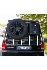 Montage des Erweiterungssatzes für Fahrradträger VW T5/T6 - zur Aufrüstung zum universellen Heckträger