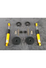 Body lift kit for Vito / Viano 4x4 (W639/1),  2003 - 2010