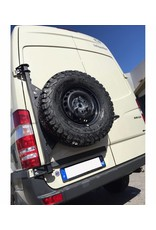 Sprinter 906 /Crafter I  Ersatzradhaltemodul für die Hecktür links (180° Tür)