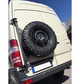 Sprinter II / III Porte roue sur porte arrière gauche (porte à 180°)