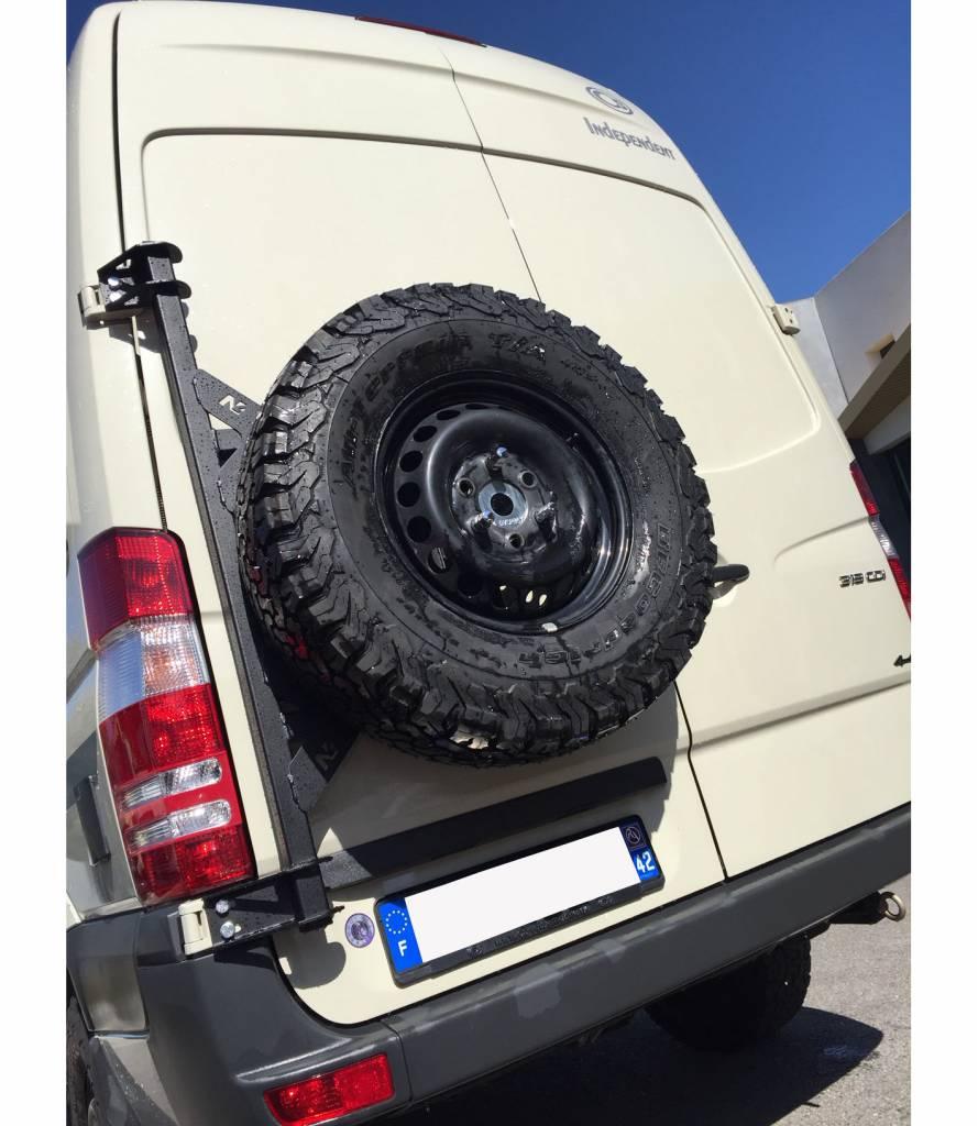 2016 Ford Transit >> Mercedes Sprinter 906 / VW Crafter I (2006-2016) - Ersatzradhaltemodul - GTV-VAN