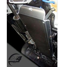 Mercedes Sprinter 906  4x4 Ski de protection réservoir alu 6mm