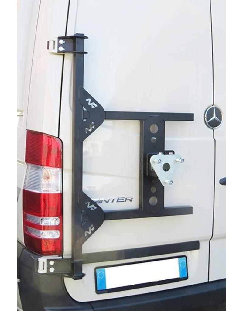 Sprinter 906 /Crafter I Porte roue sur porte arrière gauche (porte à 180°)