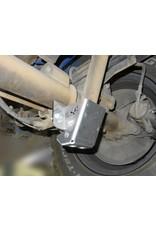 Mercedes Sprinter 906 4x4 Verstärkung des hinteren unteren Stoßdämpferbefestigungspunktes mit Schutzplatte