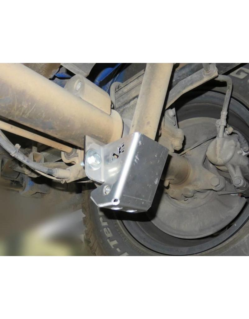 Mercedes Sprinter 906/907  Verstärkung des hinteren unteren Stoßdämpferbefestigungspunktes mit Schutzplatte