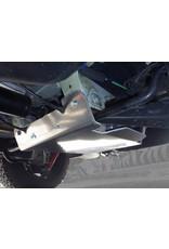 N4 blindage NEZ DE PONT ARRIÈRE en alu 6 mm pour VW T5/ T6 4motion