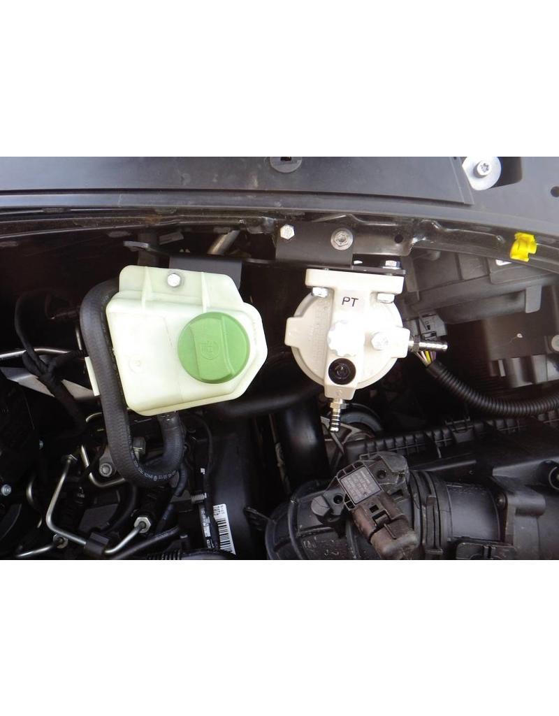 N4 mounting kit for diesel prefilter RACOR series 200 for VW T5/6