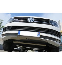 VW T6 N4 blindage moteur en alu 6 mm