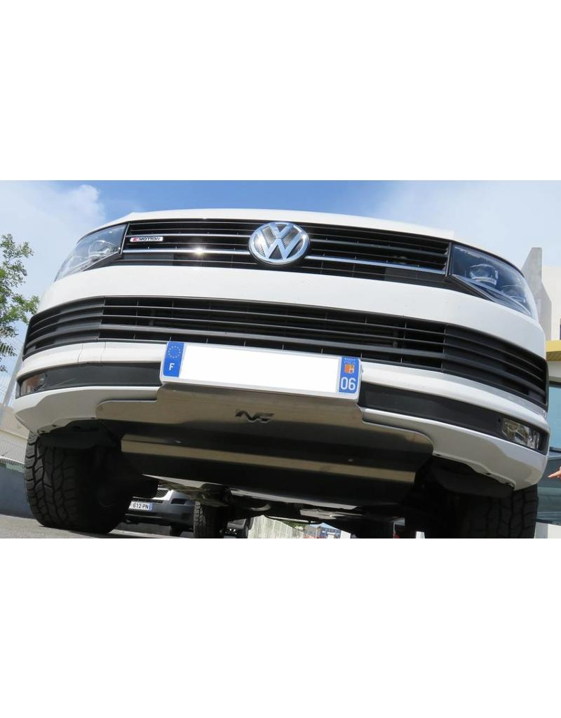 N4 Aluminium-skid plate /engine protection for VW T6 4 motion >2015