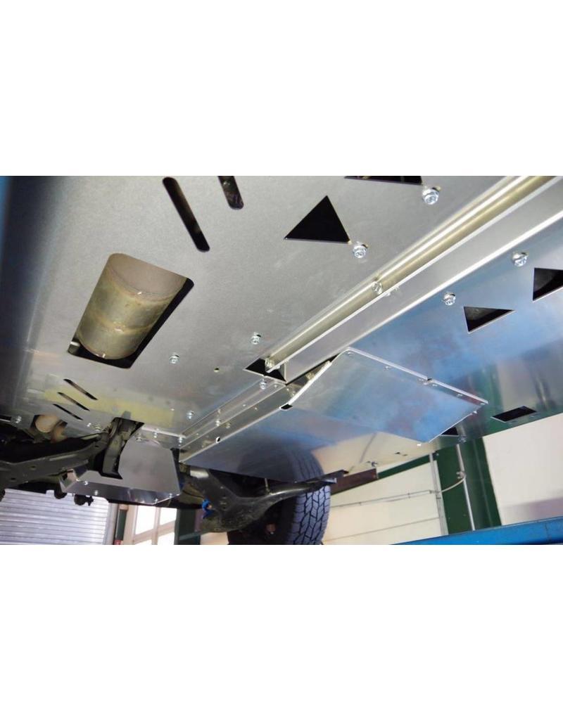 """Dispositif de blindage du dessous du véhicule """"transmission-différentiel"""" pour Mercedes VITO/VIANO/classe V 447 4WD"""