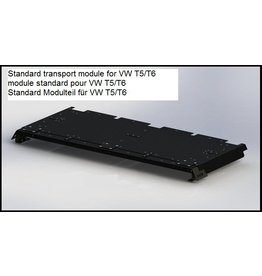 standard transport module for the GTV-GMB VW T5/6 modular roof rack system