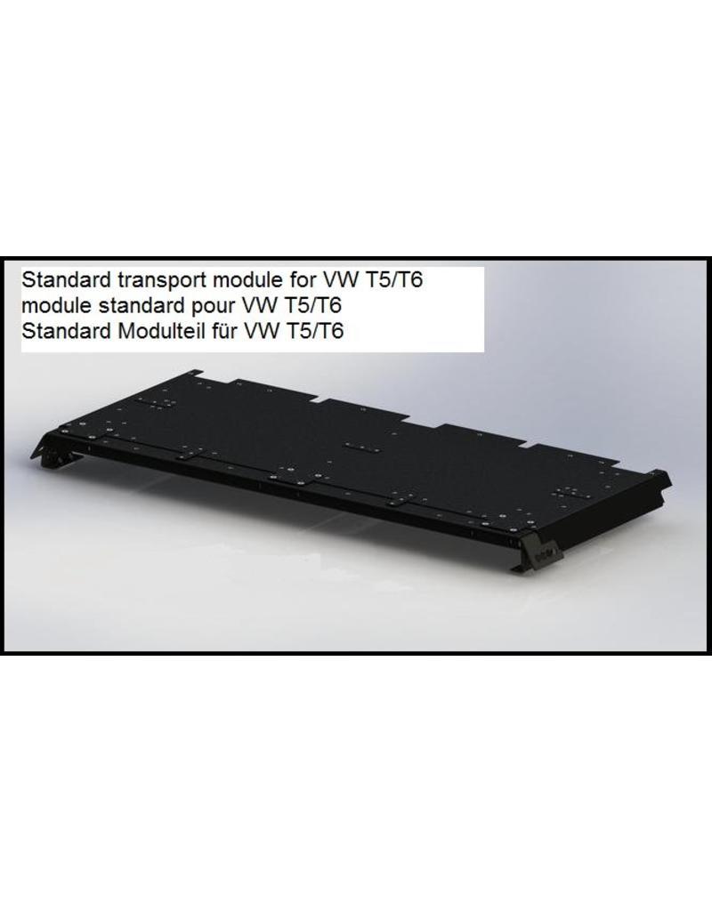 standard transport module for the GTV-GMB VW T5/6 modular roof rack system