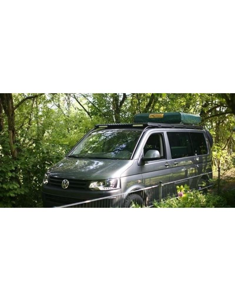 rear cover module for the GTV-GMB VW T5/6 modular roof rack system