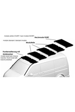rear end module SHORT for the GTV-GMB VW T5/6 modular roof rack system
