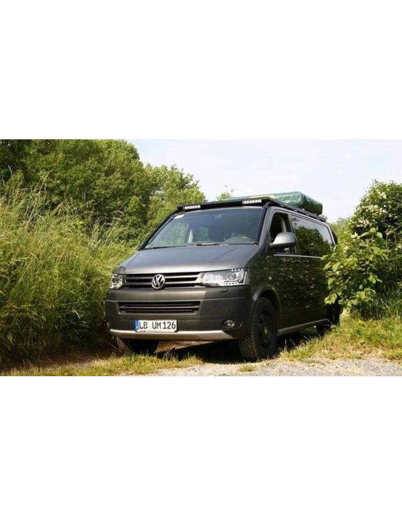 """Modulteil Frontblende """"KEIL"""" als vorderer Abschluss des GTV-GMB VW T5/6 Dachgepäckträgersystems"""