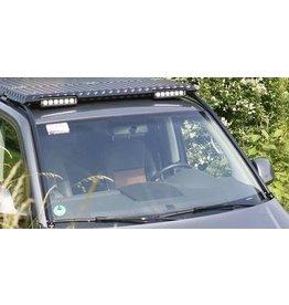 """Modulteil Frontblende """"Astabweiser/LED"""" als vorderer Abschluss des GTV-GMB VW T5/6 Dachgepäckträgersystems"""