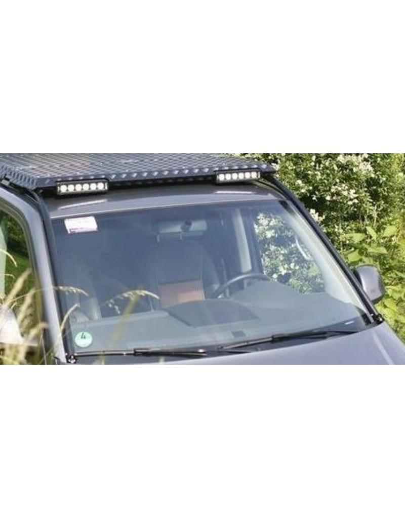 """front module """"branch protection/LED"""" for the GTV-GMB VW T5/6 modular roof rack system"""