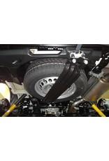 SEIKEL Unterflur Ersatzradhalter für größere Reifen T5/T6