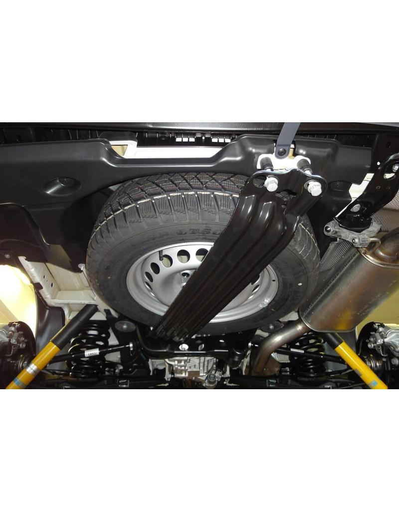 SEIKEL Under body spare wheel holder for oversize off-road tyres