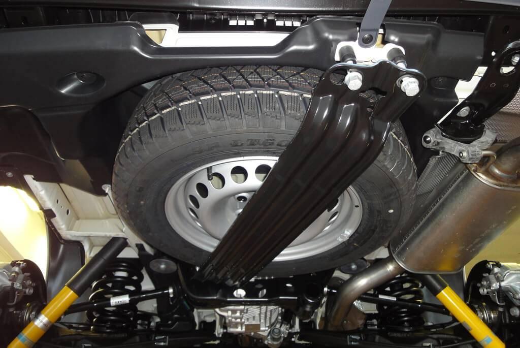 Seikel Unterflur Ersatzradhalter F 252 R Gr 246 223 Ere Reifen T5 T6