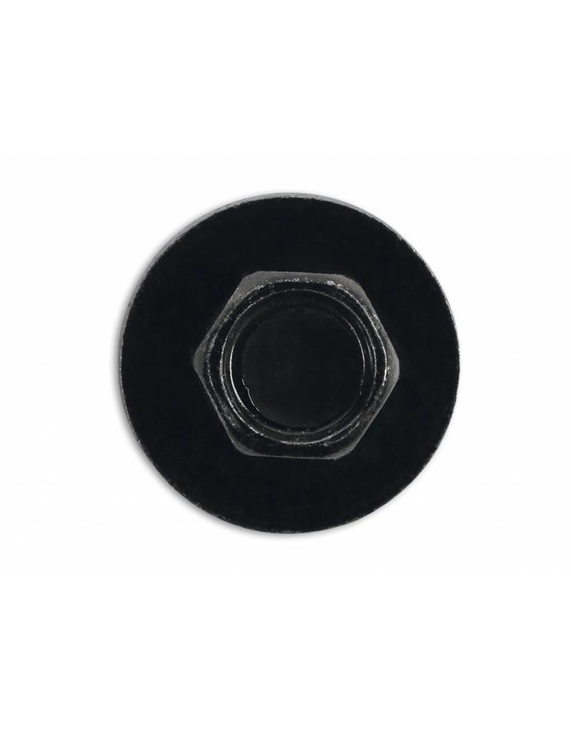Metal Trim Fastener Screw with captive washer 4.8 x 19 Pk 10