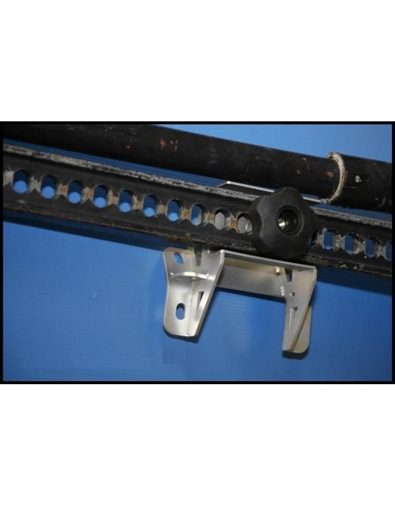 pair of mounting brackets for Hi Lift - BLACK