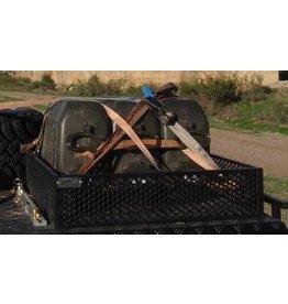 bagage basket  LxWxH: 641x 583 x 145 mm Aluminum BLACK