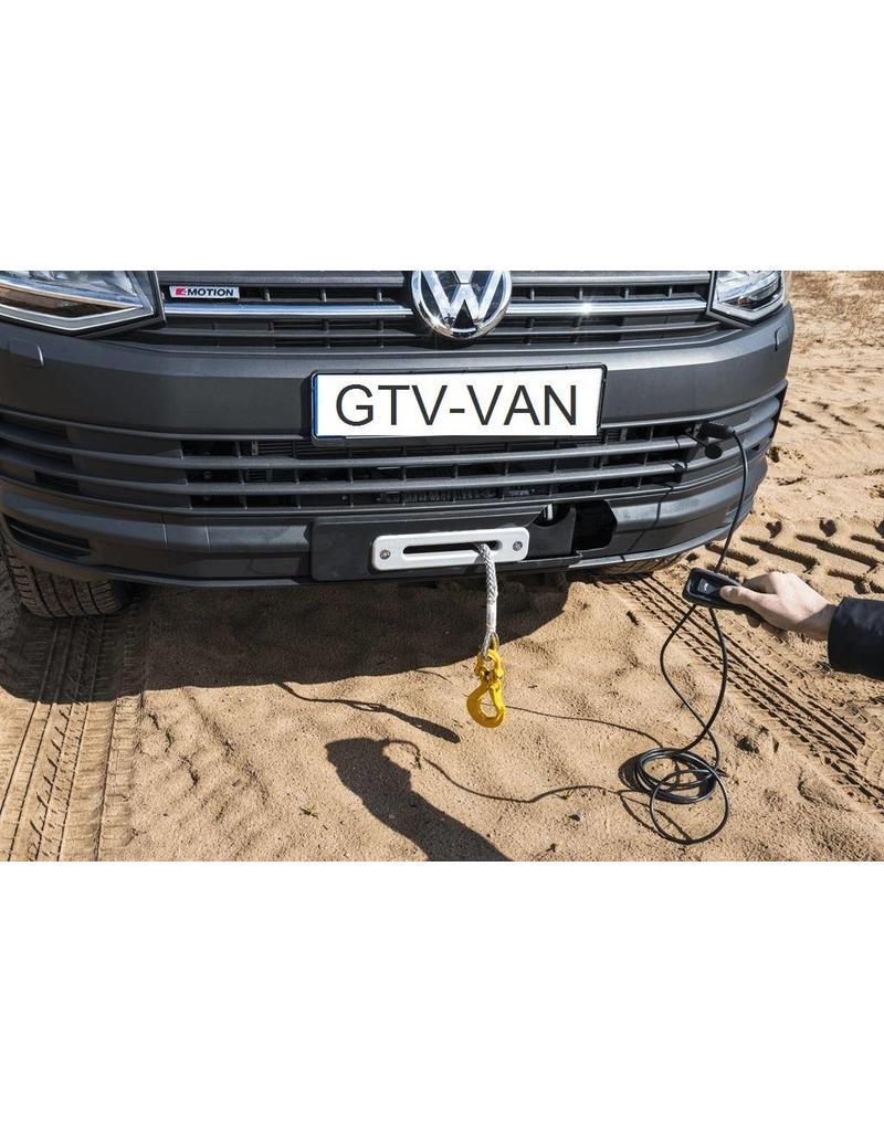 SEIKEL Seilwinde 3.600kg, 12V mit Kunststoffseil