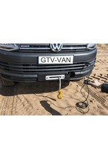 SEIKEL VW T5 winch 3.600 kg, 12V with rope
