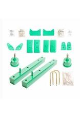 """VAN COMPASS™ SPRINTER T1N Kit de rehausse 2.0"""" (kit complet)"""