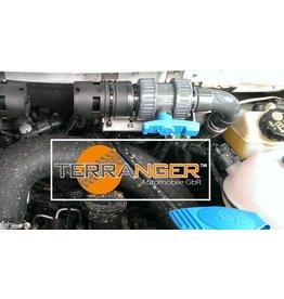 Kit de transformation pour chauffe-eau supplémentaire pour plus de profondeur de gué, adapté au VW T5