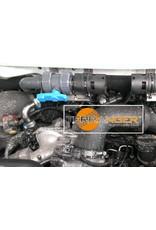 Einbau des Umbaukits Luft-Standheizung für mehr Wattiefe, passend für VW T5/T6