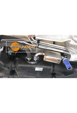 Waterproof silencer for air heater, suitable for VW T5 / T6
