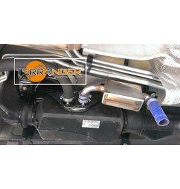 Silencieux / amortisseur de bruit étanche adapté à un chauffage auxiliaire à air adapté au VW T5/T6