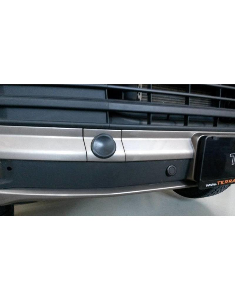 TERRANGER reinforced towing hooks, front, suitable for VW T6